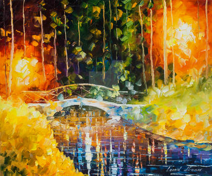 Bridge Over Anger by Leonid Afremov