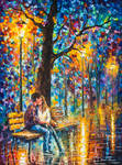 HAPPINESS by Leonid Afremov