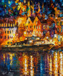 Reflections Of The Past by Leonid Afremov