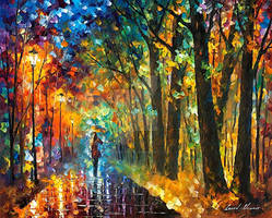 Green Vibes by Leonid Afremov
