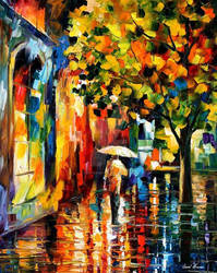 Summer Rain 2 by Leonid Afremov