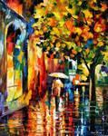 Summer Rain 2 by Leonid Afremov