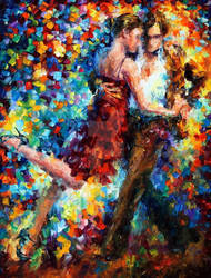 Emotional Tango by Leonid Afremov