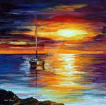 Calm Sea by Leonid Afremov
