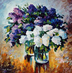 FIRST LILACS by Leonid Afremov