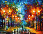 End Of Winter Day by Leonid Afremov