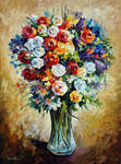 FAVORITE FLOWERS by Leonid Afremov