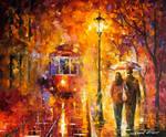 Date By The Trolley by Leonid Afremov