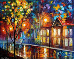 When The Night City Sleeps by Leonid Afremov