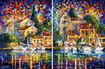 Resort By The River - Set Of 2