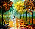 Autumn Leaf Season by Leonid Afremov