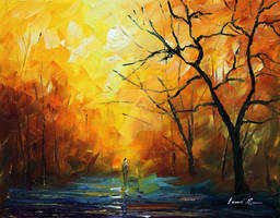 The Colors Of Morning by Leonid Afremov