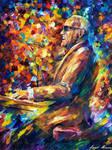 Legendary Ray Charles by Leonid Afremov
