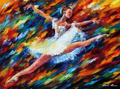 Joy And Elation by Leonid Afremov