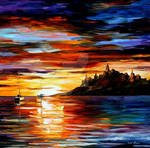 The Coast Of Normandy by Leonid Afremov