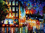 London's Night Lights by Leonid Afremov