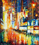 Times Square At Night by Leonid Afremov