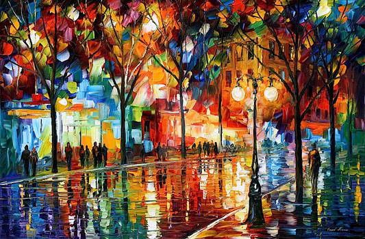 The Tears Of The Fall by Leonid Afremov