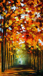 Before The Leafs Fall by Leonid Afremov