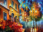 Lucky Night Out by Leonid Afremov