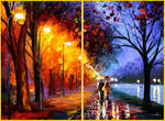 ALLEY BY THE LAKE - Set of 2 pieces