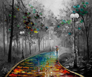 The Fog Of Passion by Leonid Afremov