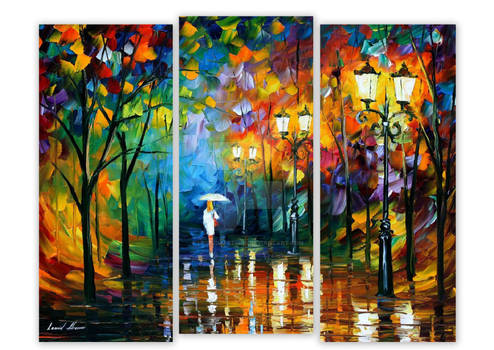 LATE STROLL set of 3