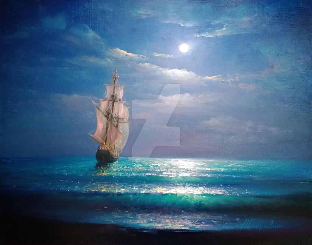 Moon Traveler by Andrey Boravik