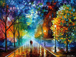 Freshness Of Cold In The Evening by Leonid Afremov
