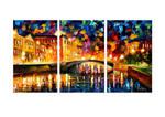 Bridge Over Dreams - Set Of 3