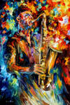 The Soul Of The Saxophone by Leonid Afremov