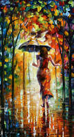 The Love Flight by Leonid Afremov