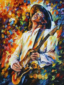 Stevie Ray Vaughan 2 by Leonid Afremov
