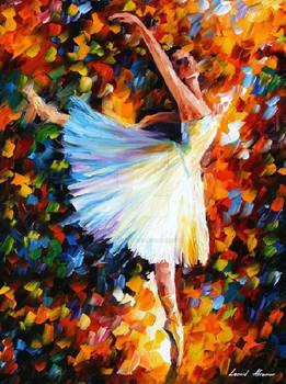Ballet by Leonid Afremov