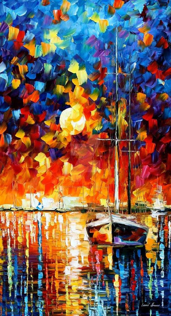 Hidden Sun by Leonid Afremov