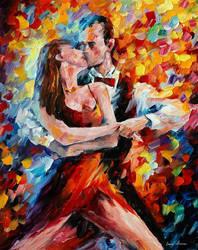 The Rhythm Of Passionate Tango by Leonid Afremov