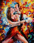 The Rhythm Of Passionate Tango by Leonid Afremov