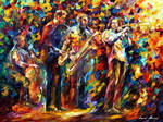 Jazz Band by Leonid Afremov