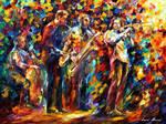 Jazz Band by Leonid Afremov