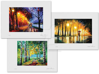 49 USD for any of these 3 prints with signature