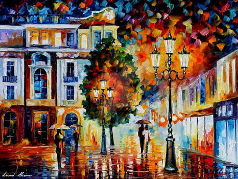 Lonely Couples In Love by Leonid Afremov