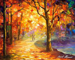 Orange Smoothness by Leonid Afremov
