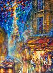 Paris - Recruitement Cafe by Afremov Studio