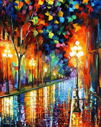 Before Morning by Leonid Afremov