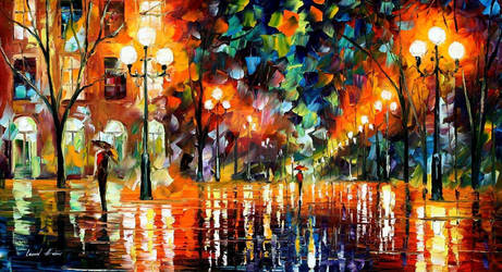 The Spectrum For Happiness by Leonid Afremov