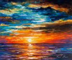 Dream Clouds by Afremov Studio