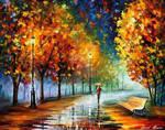 Fall Marathon Of Nature by Leonid Afremov