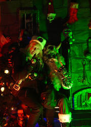 Satan Claws live at AntiChristmass XIII 2