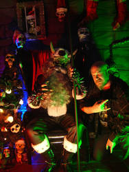 Satan Claws live at AntiChristmass XIII 4