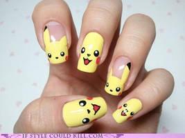 Pikachu by timebomb1111